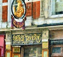 The Punch Tavern, 99 Fleet Street, London by PictureNZ