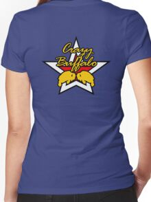 Street Fighter IV Boxer - Crazy Buffalo Women's Fitted V-Neck T-Shirt