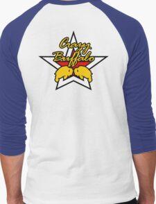 Street Fighter IV Boxer - Crazy Buffalo Men's Baseball ¾ T-Shirt