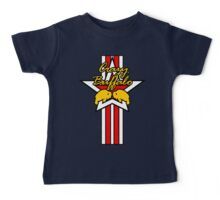 Street Fighter IV Boxer - Crazy Buffalo (Stars & Stripes) Baby Tee
