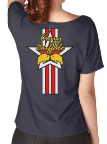 Street Fighter IV Boxer - Crazy Buffalo (Stars & Stripes) Women's Relaxed Fit T-Shirt