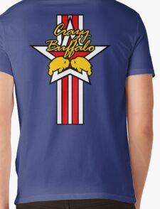 Street Fighter IV Boxer - Crazy Buffalo (Stars & Stripes) Mens V-Neck T-Shirt