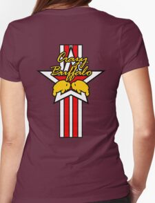 Street Fighter IV Boxer - Crazy Buffalo (Stars & Stripes) Womens Fitted T-Shirt