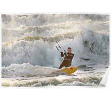 Whitewater Kiting Poster
