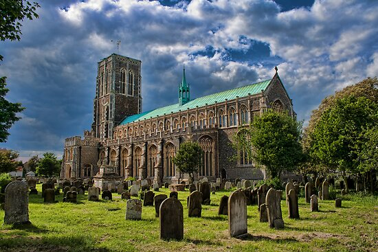 St Edmund King and Martyr Southwold by Dave Godden