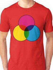 CMYK VENN Unisex T-Shirt