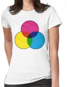 CMYK VENN Womens Fitted T-Shirt