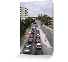 Traffic Jam One Greeting Card