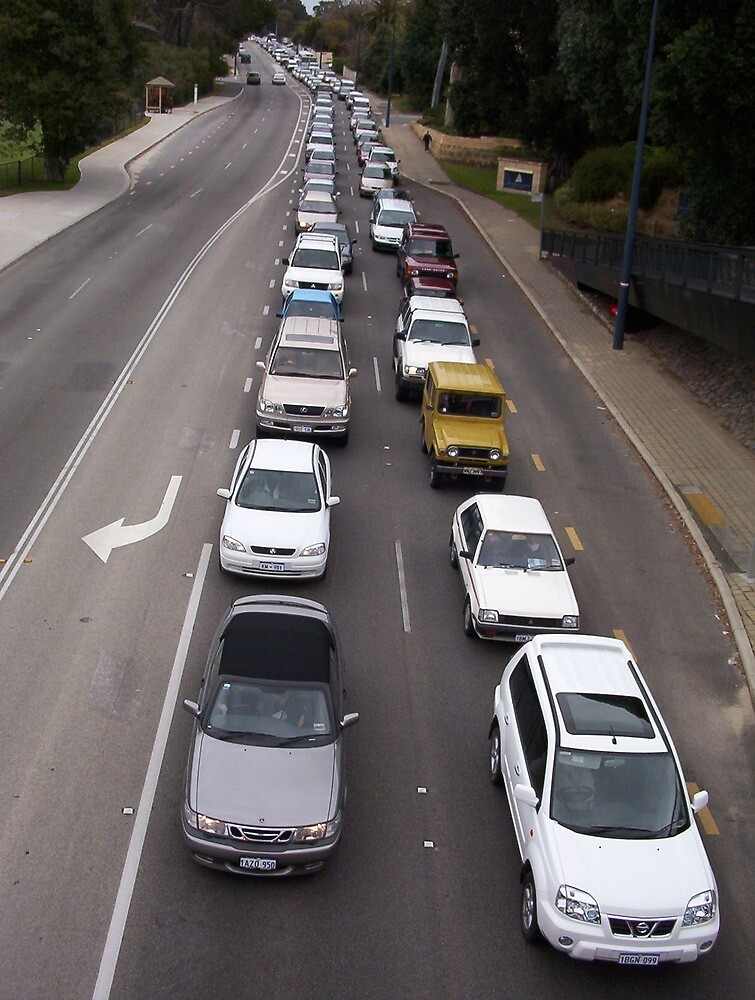 Traffic Jam Two by Robert Phillips