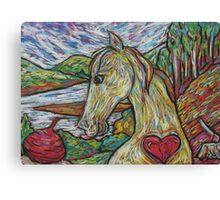Hearty Horse Canvas Print
