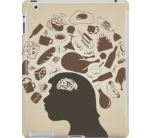 Thinks of meal iPad Case/Skin