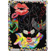 ASL THROWING KISSES and I LOVE YOUs iPad Case/Skin
