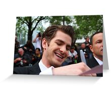 Andrew Garfield Greeting Card