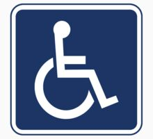 Handicapped Access Sign by SignShop