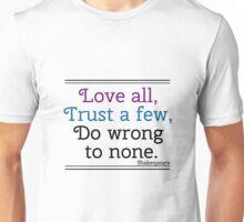 Shakespeare Quote Unisex T-Shirt