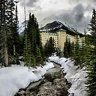 Leading To The Fairmont by Kymie