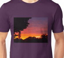 Street sunset Unisex T-Shirt