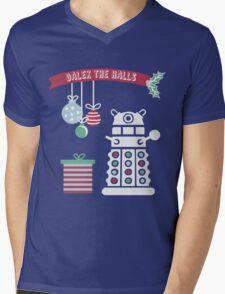 """Dalek the halls"" Christmas Design Mens V-Neck T-Shirt"