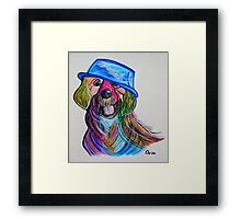 Lab - Repurposing the Water Bowl Framed Print