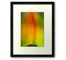 pepper flame Framed Print