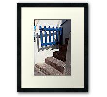 Swinging Gate Framed Print