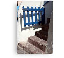 Swinging Gate Canvas Print