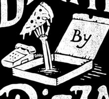 Death By Pizza Sticker