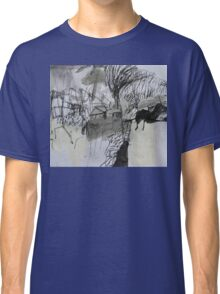 spring storm over the yard Classic T-Shirt