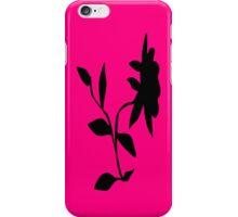 Black Daisy iPhone Case/Skin