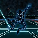 Spidey Enters The Grid by Michael Donnellan