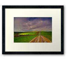 """Road To Barrabool"" Framed Print"