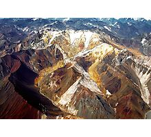 The Andes Photographic Print