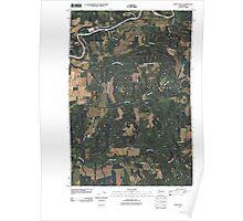 USGS Topo Map Washington State WA Eden Valley 20110405 TM Poster