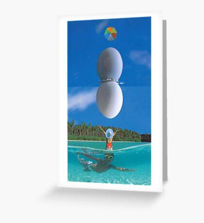 M Blackwell - The Sky Egg... Greeting Card