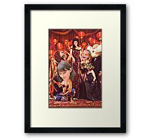 M Blackwell - Madame Zinsky's House of Fun... Framed Print