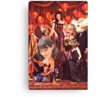 M Blackwell - Madame Zinsky's House of Fun... Canvas Print