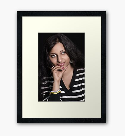 In Thoughts Framed Print