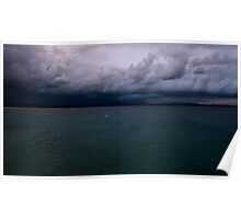 Byron Bay...a storm brewing. Poster