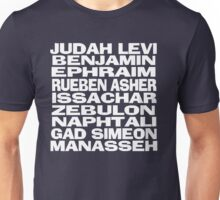 Twelve Tribes of Israel Unisex T-Shirt
