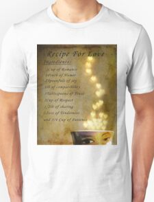 Recipe for Love T-Shirt