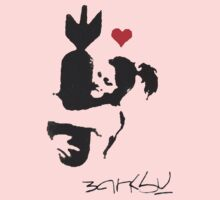 Banksy Hugger Red Kids Clothes
