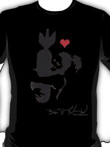 Banksy Hugger Red T-Shirt