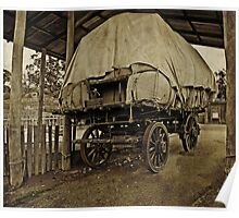 The Old Bullock Dray  (Driver's gone to find a wife) Poster