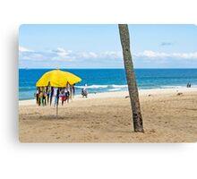 Praia de Ipanema Canvas Print