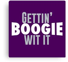 Gettin Boogie Wit It - Demarcus Cousins Canvas Print