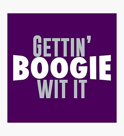 Gettin Boogie Wit It - Demarcus Cousins Photographic Print