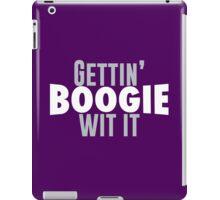 Gettin Boogie Wit It - Demarcus Cousins iPad Case/Skin
