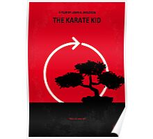 No125 My KARATE KID minimal movie poster Poster