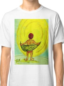 Toweling at the Moon Classic T-Shirt