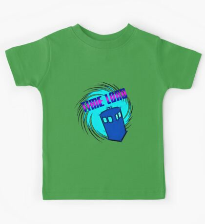 Dr Who - Time Lord Kids Tee